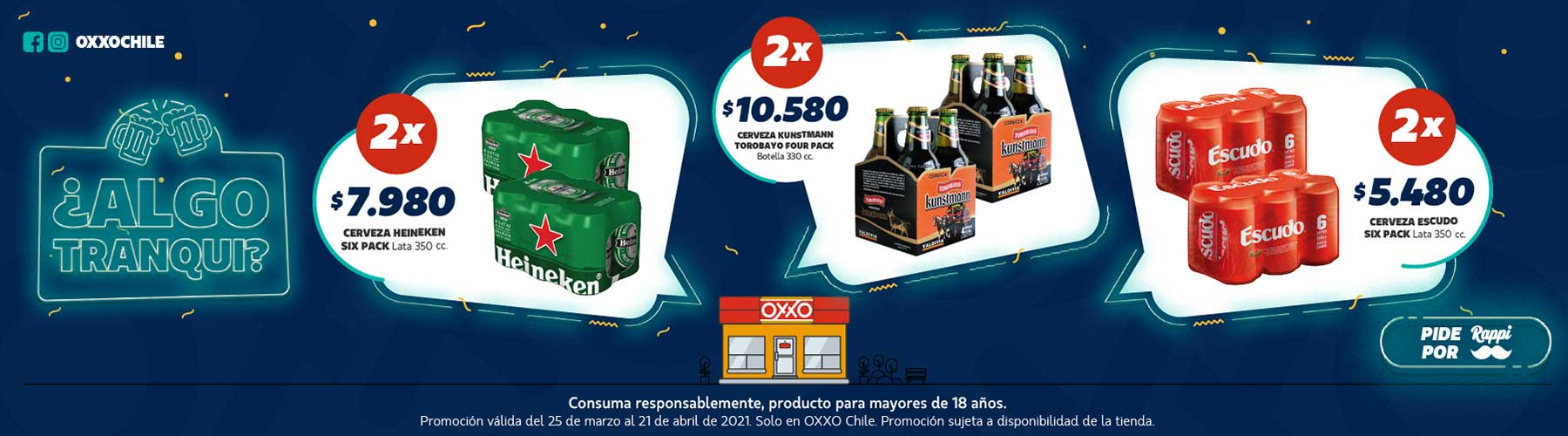 OXXO Chile Home Banner 4 P4 2021