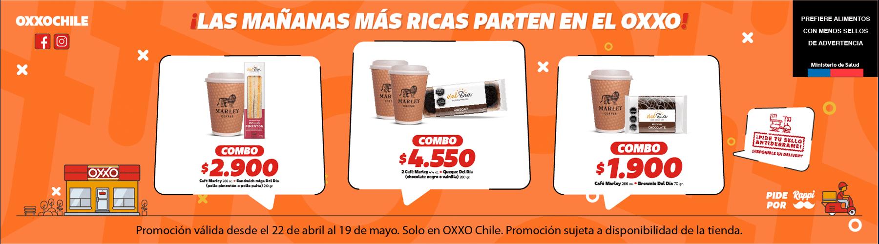 OXXO Chile Café Marley P5 2021