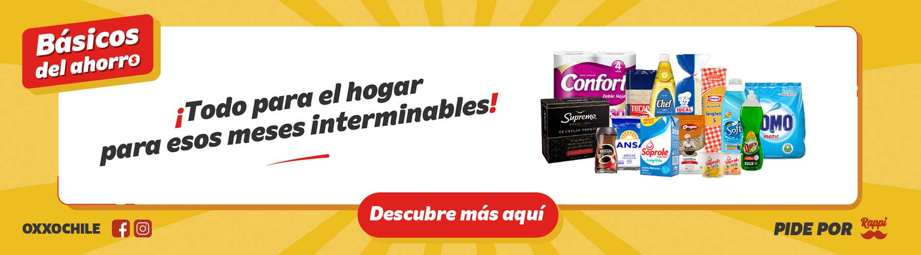 OXXO Chile Home Banner 2 P4 2021