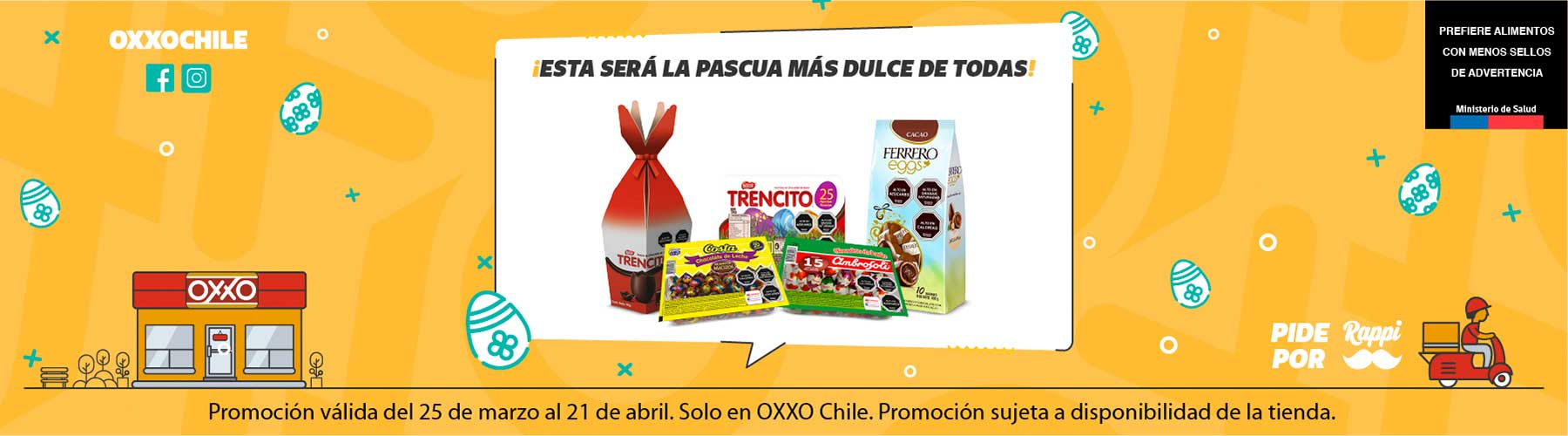 OXXO Chile Home Banner 1 P4 2021