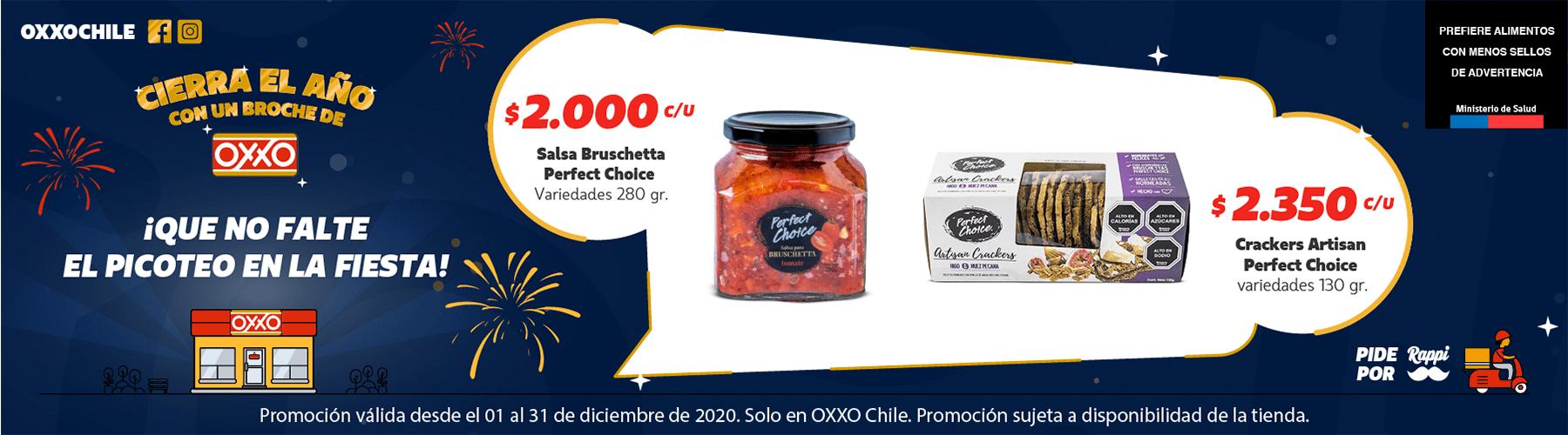 OXXO Chile Pizza P12 2020