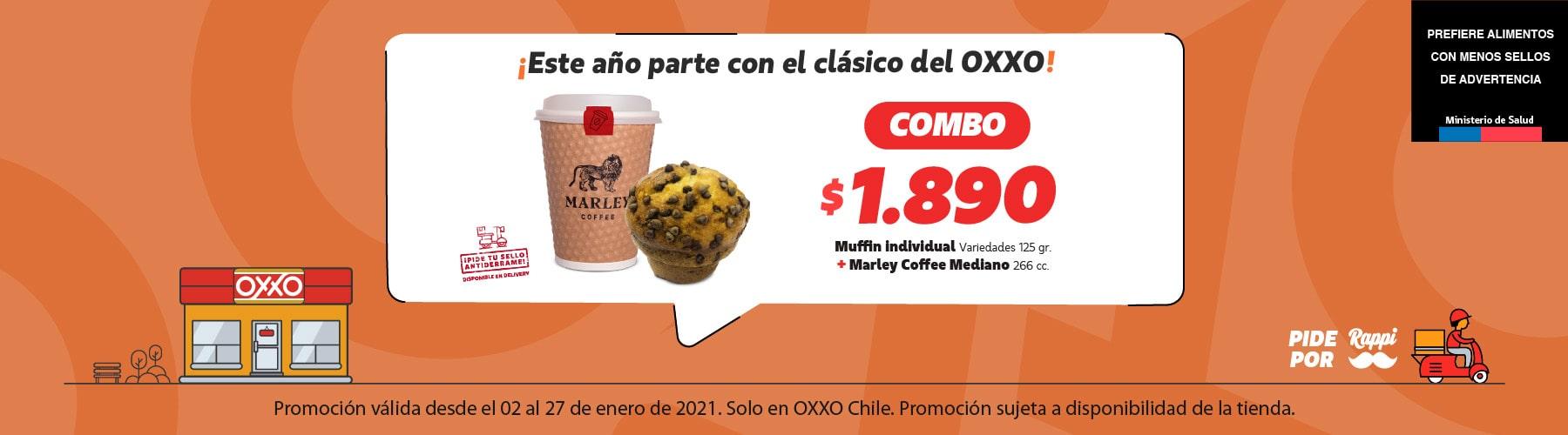 OXXO Chile Banner Marley Enero 2021