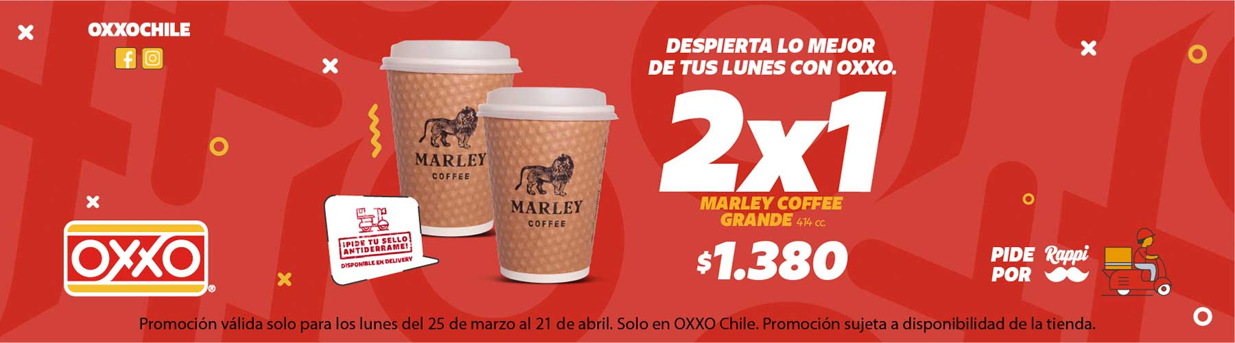 OXXO Chile Home Banner 3 P4 2021